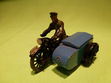 MORESTONE   MOTORCYCLE WITH SIDECAR  -  RARE SELTEN - IN GOOD CONDITION