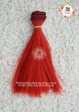 Synthetic Doll Hair Straight Weft BJD Blythe Monster High reroot custom Wig MLP