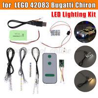 Luz LED Iluminación Kit Juego Para lego 42083 Bugatti Chiron Técnica Edifi
