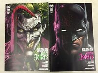 BATMAN: THREE JOKERS #1 COMPLETE SET OF 5 JASON FABOK COVERS - DC COMICS/2020