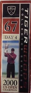 Tiger Woods Collector Series 1 2000 US Open Champion Day 4 67 Hole 12