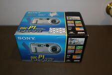 Sony Cyber-shot DSC-P1 3.3MP Digital Camera W/ Box