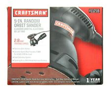 Craftsman 5 Inch Random Orbit Sander 2.8AMP Variable Speed 9-11218