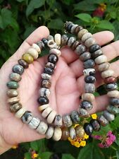 473 Carats Natural PICASSO JASPER Untreated Round Shape Beads Necklace
