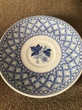 """Vintage Spode Geranium Blue With Flowers 5.75"""" Saucer Only (SC)"""
