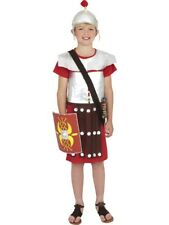 Smiffy's Children's Roman Soldier Costume Tunic and Hat Size Medium Ages 7 -