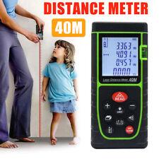 40m Handheld Digital Laser Distance Meter Range Finder Measure Diastimeter Tool