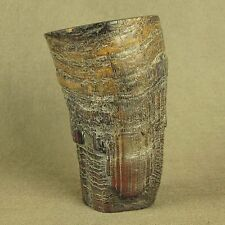 STUNNING WITH CARVED CHINESE OLD OX HORN CUP