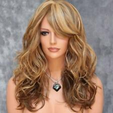Fashion wig New Charm Women's Long Brown Mix Blonde Curly wigs Cosplay 2018.US