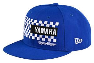 Troy Lee Designs Yamaha New Era Checkers Snapback Hat OSFA - Blue