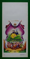 L39 Plakat Animation Schneewittchen E I Sieben Zwerge Walt Disney