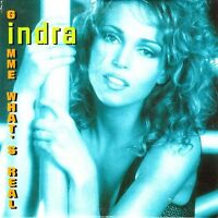 Indra ‎Maxi CD Gimme What's Real - France (EX/EX)