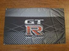NISSAN GTR FLAG BANNER 3X5FT R31 R32 R33 R34 R35 SKYLINE TWIN TURBO V6 DATSUN