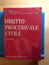 DIRITTO PROCESSUALE CIVILE Edizioni giuridiche Simone Manuali giuridici 1999 di