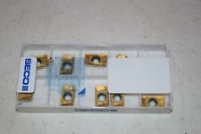 10 Seco Carbide Inserts Milling Square 69375 APKX160416R-ME 12