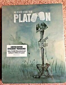 Blu Ray - Steelbook - Platoon - (Limited Edition)  - Brand New & Sealed