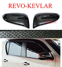 Side Carbon Door Mirror cover for Toyota Hilux Revo Sr5 M70 Fortuner 2015-2017