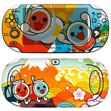 Skin Decal Sticker For PS Vita PCH-1000 Series - Taiko No Tatsujin #01+Free Gift