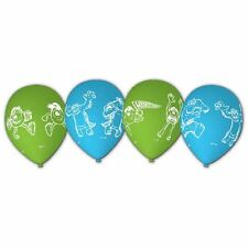 "Monsters University 11"" Latex Balloons 6pk - Monsters Inc. Birthday Party"
