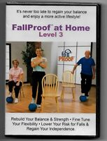 FallProof at Home: Level 3 (DVD) Exercise Fitness for Older Adults Seniors NEW