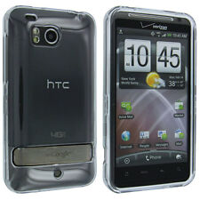 Clear Snap On Hard Case Cover for HTC Thunderbolt 6400