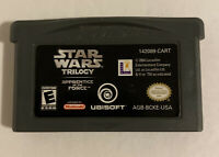 Nintendo Game Boy Advance Star Wars Trilogy Apprentice Of The Force Video Game