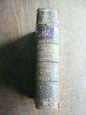 New Law Dictionary, by Henry J Holthouse (London, 1846), hardback 1/4 leather.