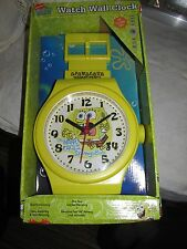 2008 Nickelodeon SpongeBob SquarePants Watch Wall Clock New in Box! NIB