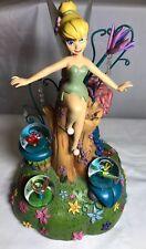 """Disney Tinker Bell Among Fireflies Musical Figure ~ Snow Globe 12 ½"""""""