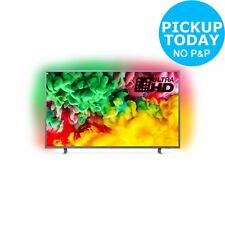 Philips 55PUS6703 55 Inch 4K Ultra HD Freeview Play Amiblight Smart WiFi LED TV
