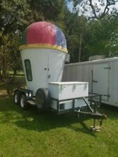 8' x 14' Shaved Ice Concession Trailer for Sale in Louisiana!