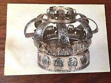 POSTCARD RUSSIA TORAH CROWN EARLY XX CENTURY UKRAINE JUDAICA JEWS JEW JUDAISM