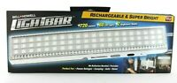 Rechargable & Super Bright Lightbar 720 Lumens As Seen On TV, Bell & Howell NEW