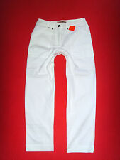 ELHO 7/8 SOMMERHOSE CAPRI STRETCHJEANS CHINO PANT WEISS 36 38 NEU !!! TOP !!!