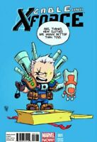 CABLE AND X-FORCE #1 (2013) MARVEL NOW! COMICS SKOTTIE YOUNG BABY VARIANT COVER