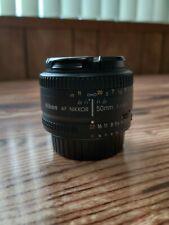 Nikon AF NIKKOR 50mm f/1.8D Lens - Mint