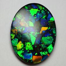Ammolite Lumachelle Gemstone A+ 40x30mm by Mont Blue
