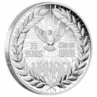 2020 End of WWII 75th Anniversary 1oz Silver Proof Coin