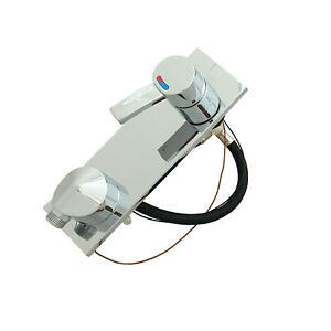 Comet Shower Mixer Wall Mounted Water Tap 12V Microswitched Caravan Motorhome