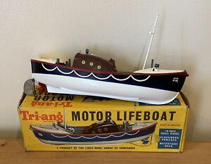 Tri-ang Motor Lifeboat - No Key