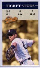 2003 Fleer Authentix Ticket Studs #7 Derek Jeter - Yankees
