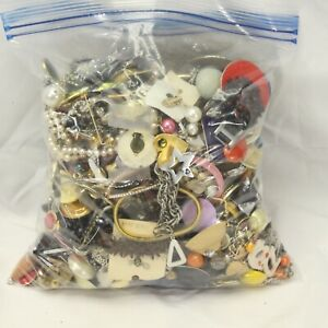 Jewelry Mixed Lot Repair Crafts Some Wearable Over 7 lbs Lot B