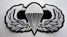 US ARMY PARATROOPER PATCH PARACHUIT PIN UP HAT PATCH CUSTOM