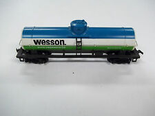 Older Tyco HO Scale Wesson Oil Tanker Car