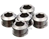 J&L Titanium Fixed Gear/Single ChainRing Bolts-for Sugino,Shimano,SRAM,Brompton