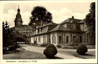 Wolfenbüttel alte AK Postkarte 1951 Blick auf  Lessinghaus und Schloß ungelaufen