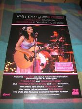 KATY PERRY-(mtv unplugged)-11X17 POSTER-MINT-RARE