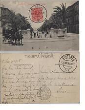 Tarjeta Postal. Alicante. Paseo del Doctor Gadea.
