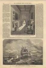 1858 Queen Mary's Closet Palazzo Holyrood Porto di Carnarvon Snowdon a distanza