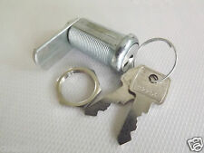 1 x 30mm POOL TABLES, FRUIT / QUIZ MACHINES FLAT KEY LOCK with 2 KEYS